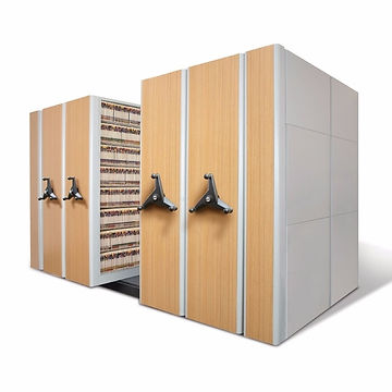 Movable High Density Shelving
