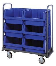 movable bin truck