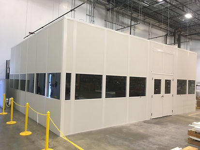 Modular Paint Booth