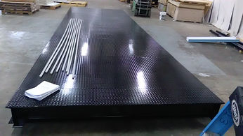 Modular Diamond Plate Floor