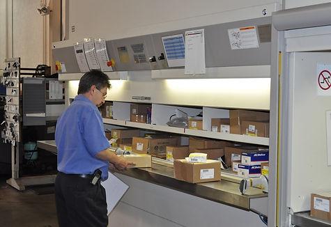 Auto Parts Storage