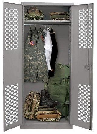 Hallowell TA-50 Military Grade Locker
