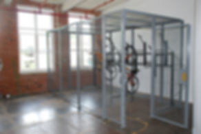 Secured Wire Mesh Enclosure