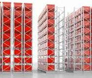Industrial High Density Shelving
