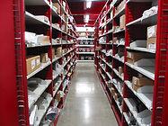 High Density Auto Parts Shelving