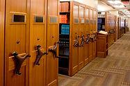 High Density Library Shelving