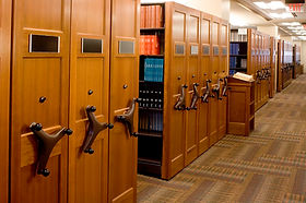 Library Movable Shelving