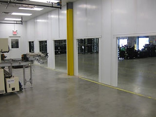 Panel Built Clean Room Interior