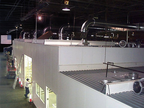 Panel Built Cleanroom from Ventilation
