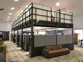 Mezzanine Office