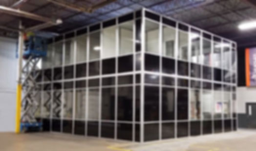 Panel Built two story glass office.jpg