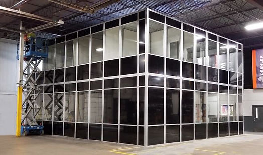 Panel Built two story glass office.jpg