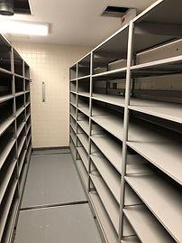 LVH Hazelton Aisle with Empty Shelves