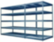 Widespan Shelving for oversized items