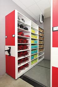 Athletics and Sports Equipment Storage