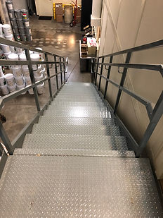 PPC Lubricants Modular Stairs