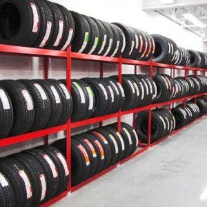 Tire shelving