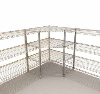 Technibilt Corner wire shelf