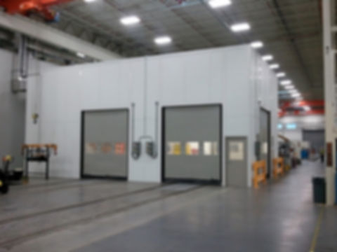 Panel Built Cleanroom with Double Doors