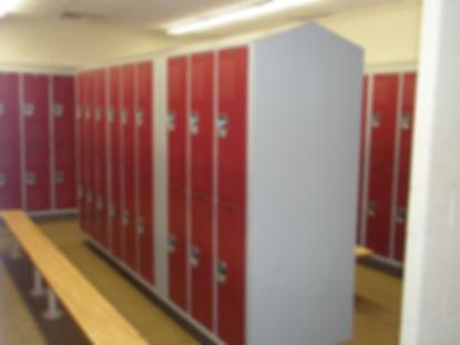 Athletic Locker Room Lockers