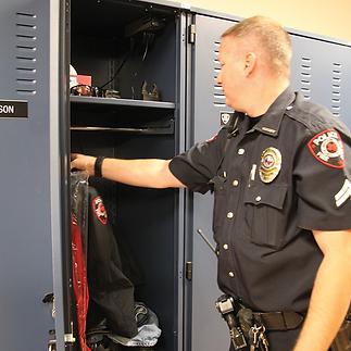 Law Enforcement Lockers