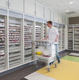 High Density Pharmacy Shelving