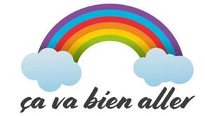 l'arc-en-ciel, «Les 7 couleurs de l'espoir »