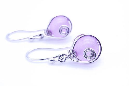 Jade Bead Earring   KVD11010