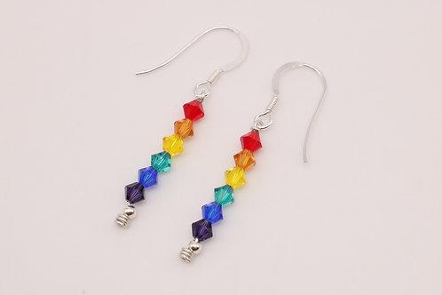 Rainbow Line Earring