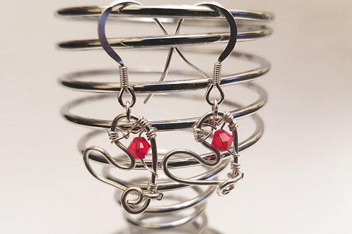Wire Heart Earring | KVD11017