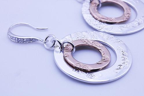 Double Circle Earring | KVD11002