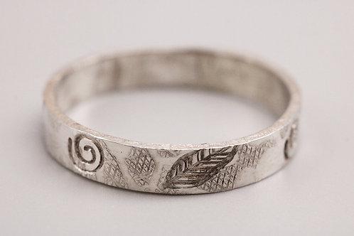 Leafy/Swirl Ring