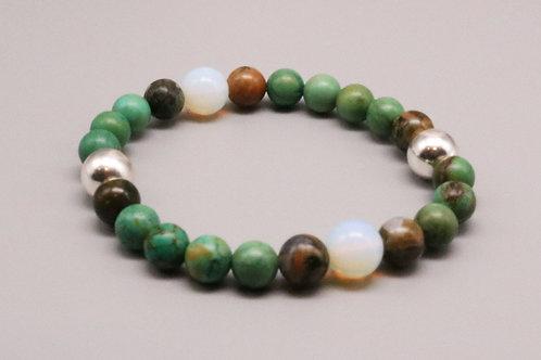 Green Opal Delight Bracelet