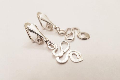 Swirl Clip On Earring | KVD11032