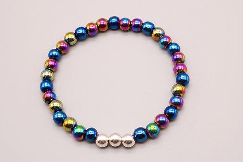 Blue-Rainbow Bracelet