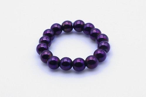 Purplebeaded ring