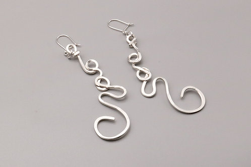 Twisted Wire Earring