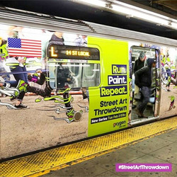 SUBWAYS ADS IN NEW YORK FOR SHOW