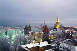 Tartu Tallinn in winter