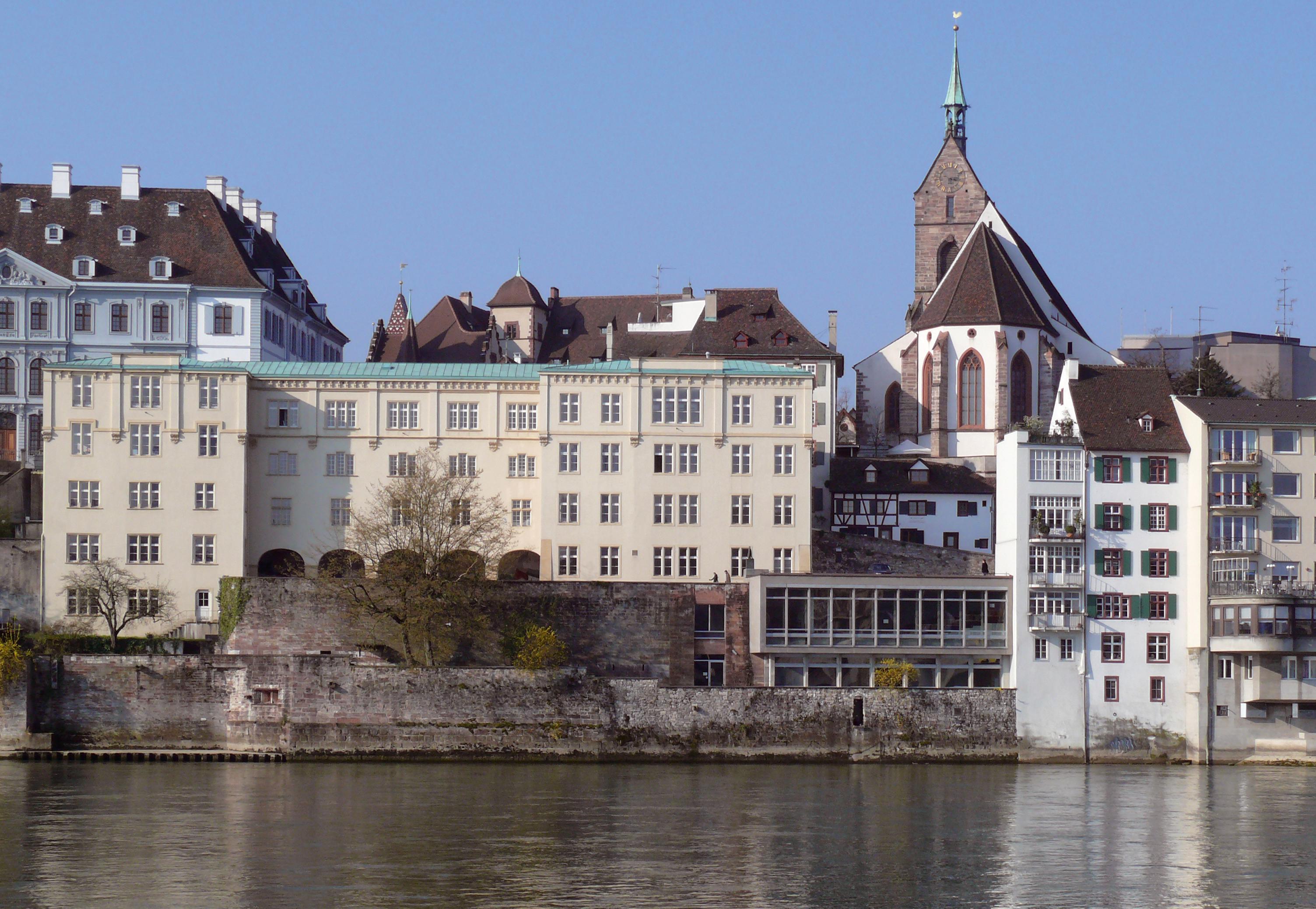 Basel-Old Univ and River Rhine
