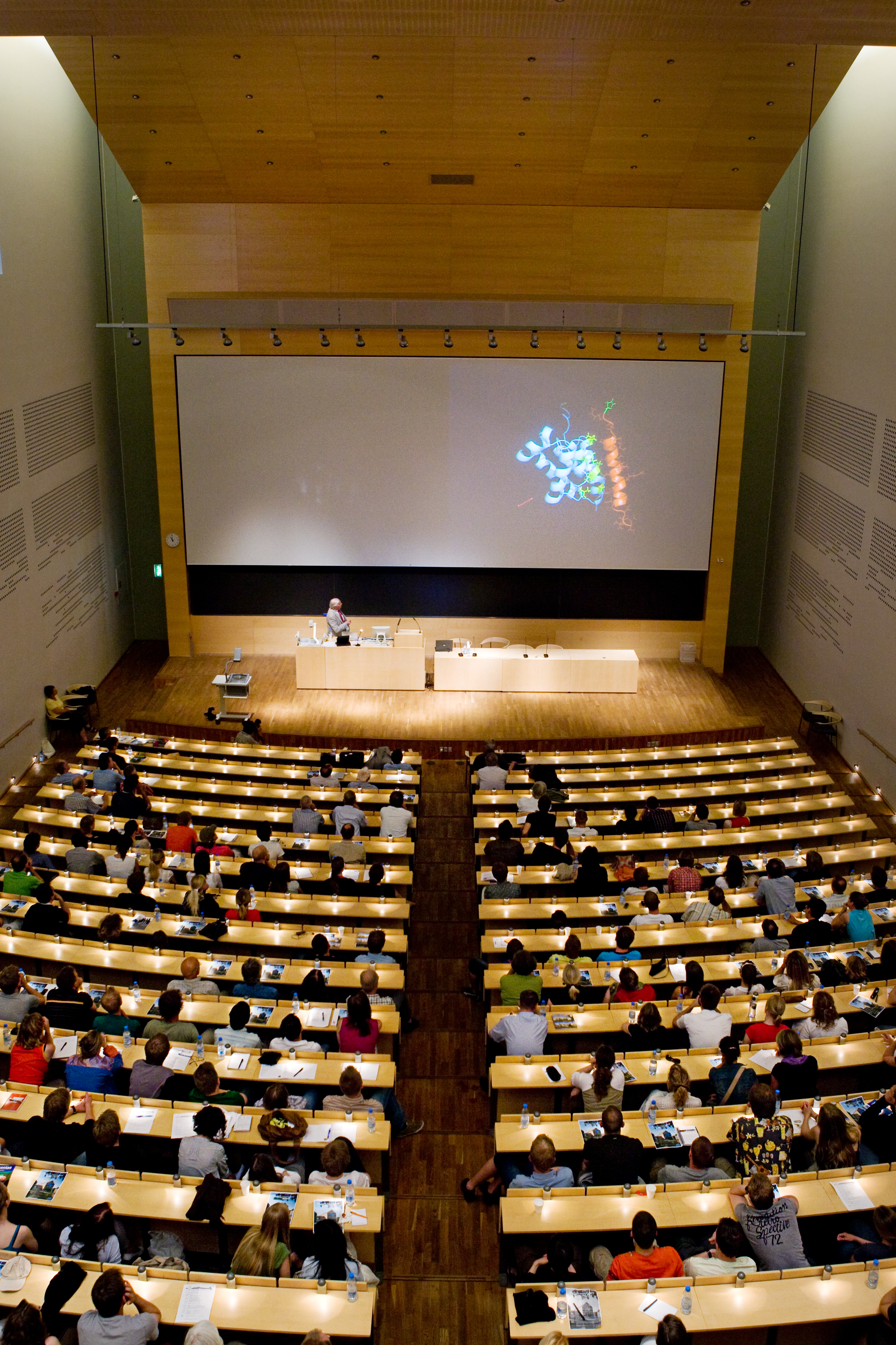Aarhus auditorium from UMSL website