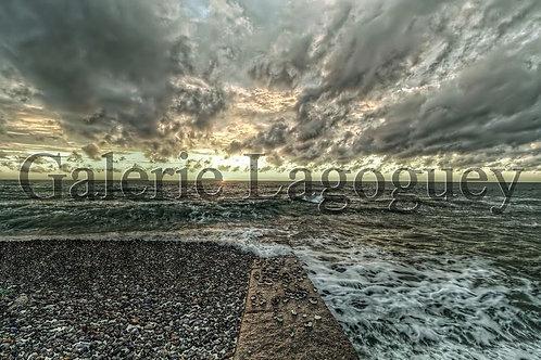 (60x40) Horizon à Mers