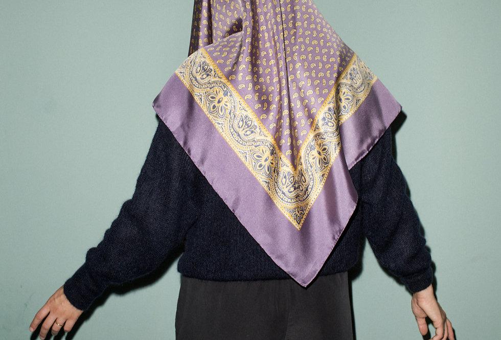 Silk Carré l Lilac