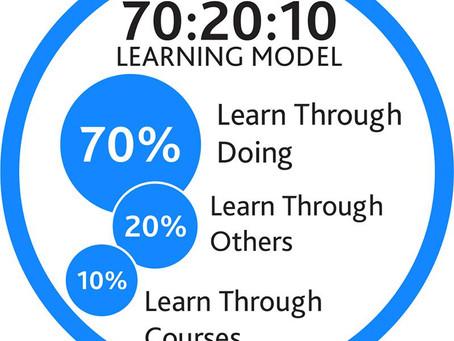 Обучение, управление знаниями и правило 170:20:10