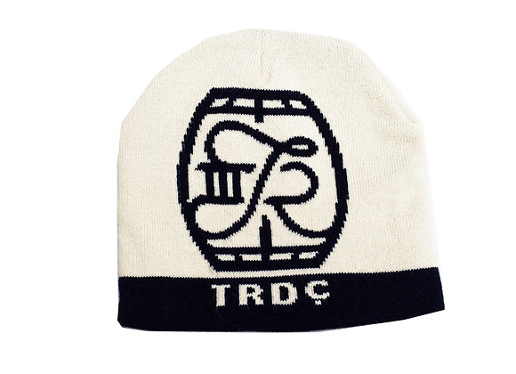 Stocking Cap: Knit TRDC Barrel