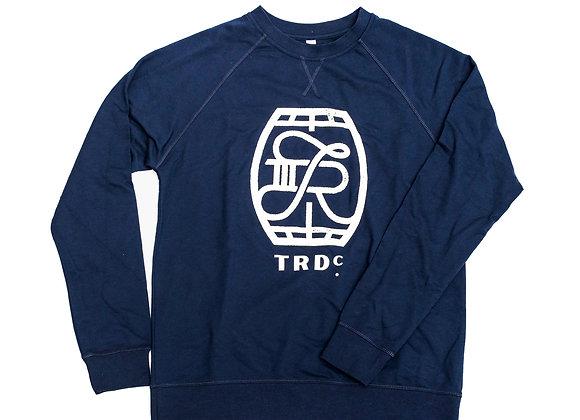 Crew Neck Sweatshirt: Barrel Logo