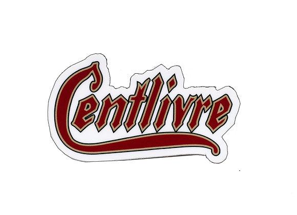 Centlivre Logo Sticker