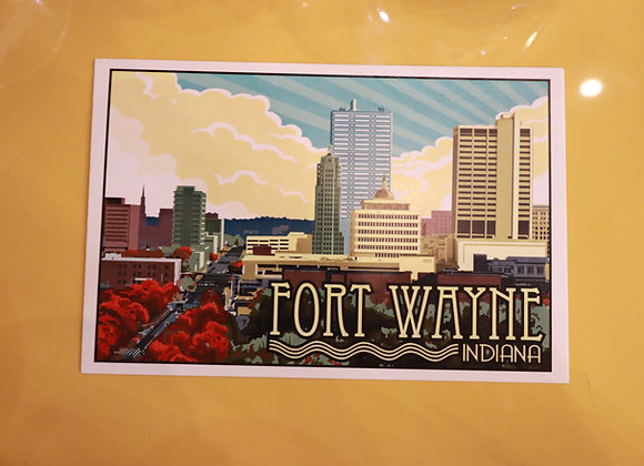Fort Wayne Poster & Postcard
