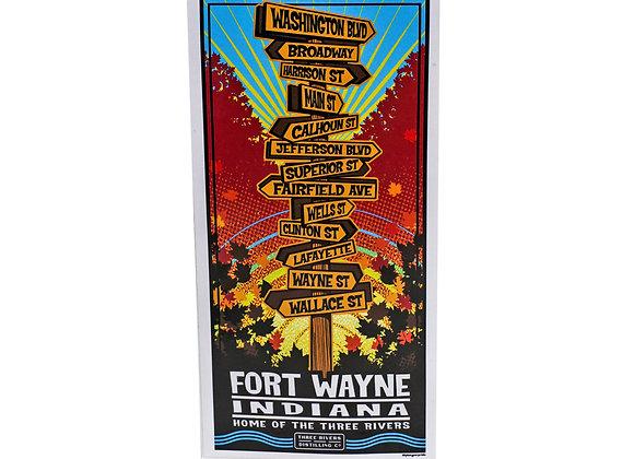 Fort Wayne Streets: Poster