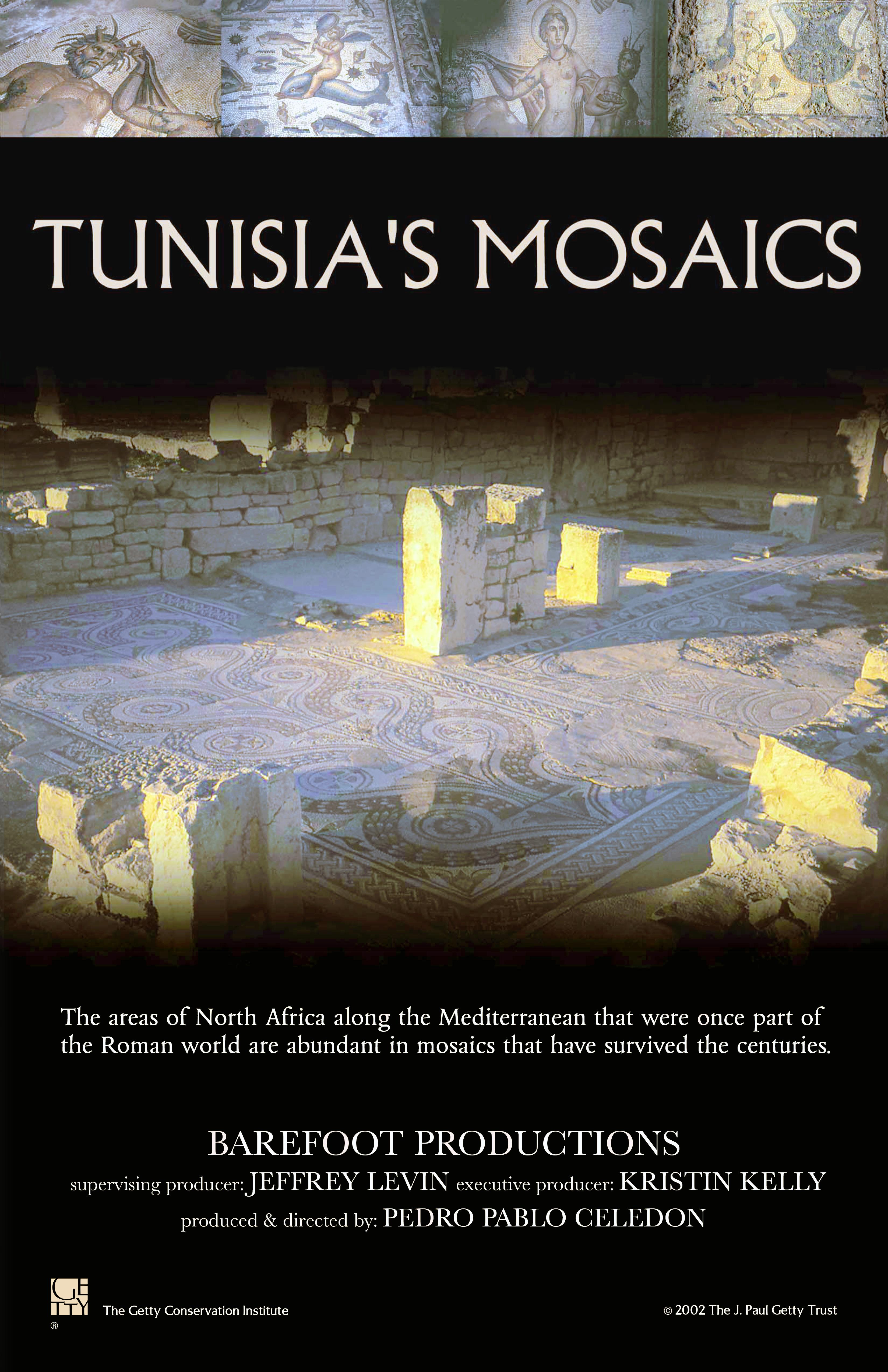 poster Tunsia's Mosaics